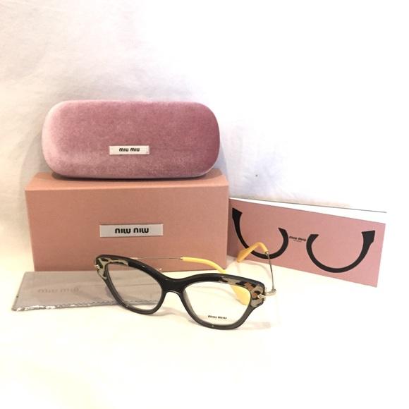 6e4882f7eed Miu Miu Cat Eye Eyeglasses
